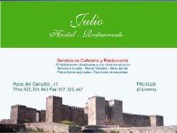 Hostal Julio,Trujillo (Cáceres)