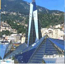Centro Termolúdico Caldea,Escaldes Engordany (Andorra)
