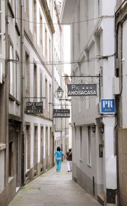 Hostal Anosa Casa,Santiago de Compostela (A Coruña)