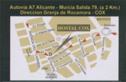 Hostal Cox,Cox (Alicante)