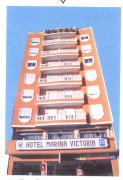 Hotel Marina Victoria,Algeciras (Cádiz)