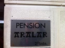 Pensión Aralar,San Sebastián (Guipúzcoa)