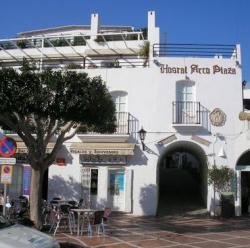 Hostal Arco Plaza,Mojácar (Almería)