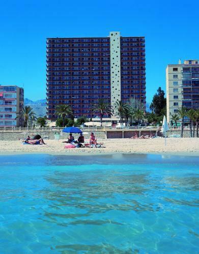 Hotel poseid n playa en benidorm infohostal for Hotel poseidon benidorm