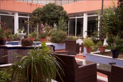 Hospedería Reina de los Ángeles,Aracena (Huelva)