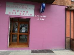 Hostal Mesón del Barro 3,Pamplona (Navarra)