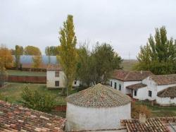Amanecer en Campos,Poblacion de campos (Palencia)