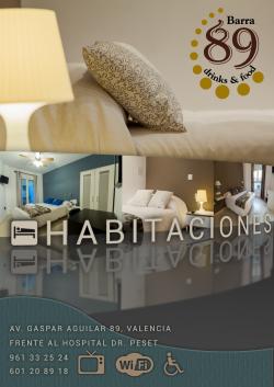 B&B Habitaciones Barra89,Valencia (Valencia)