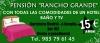 Pensión Rancho Grande,Tordesillas (Valladolid)