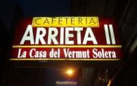 Cafetería Arrieta 2