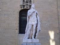 Escultura de Alfonso II