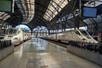 Estaci�n de tren de Barcelona Fran�a