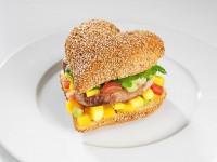Barcelona Heart Burger