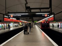 Estación de tren Clot Aragó
