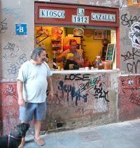 Kiosco La Cazalla