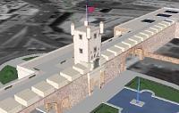 Torreón de Puerta Tierra o Torre Mathé