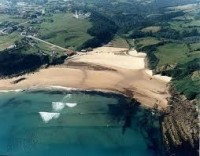 Playa Luaña