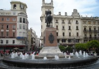 Fuente de la Plaza de las Tendillas