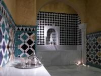 Los baños árabes del Palacio de Comares