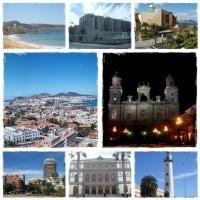 La Vista de la ciudad de las Palmas