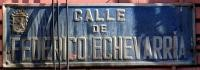 Calle Federico Echevarría