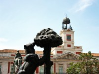 Estatua del oso y el madro o madrid hostales cercanos infohostal - Hostales en madrid puerta del sol ...
