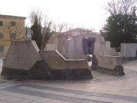 Escultura a Federico Garc�a Lorca en Vallecas