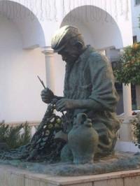 Escultura al Bolichero