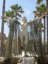 Escultura A La Protectora De Los Marineros