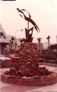 Estatua Mujer Pájaro
