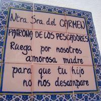 Hornacina a la Virgen Nuestra Señora del Carmen