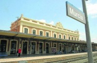 Estación de tren de Murcia del Carmen