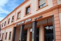 Estaci�n de tren de Pamplona-Iru�a