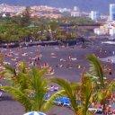 La playa Jardín