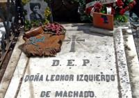 Tumba de Leonor Izquierdo
