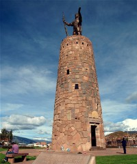 Monumento al Inca Pachacuteq