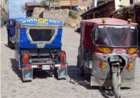 Mototaxis del Valle del Urubamba