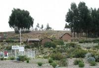 Isla Soto en lago Titicaca
