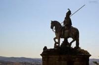 Estatua de São Longuinhos