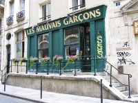 Café Les Mauvais Garcons