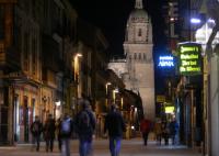 legítimo ruso paseo cerca de Salamanca