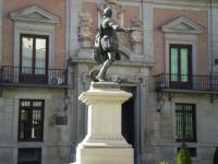 Estatua de don Álvaro de Bazán